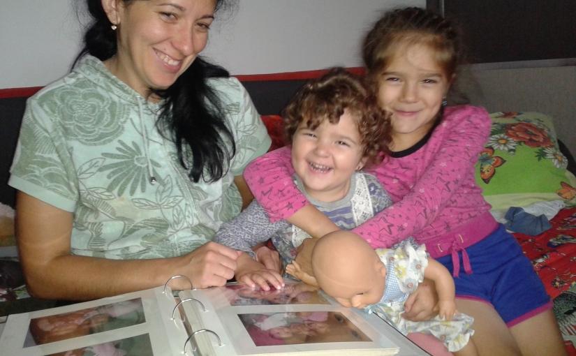 Spendenübergabe an die Witwe Nadija Uporowa und zwei Kinder, Wolodymyr-Wolynskyj, Anfang Oktober 2016 – Bericht27-2016